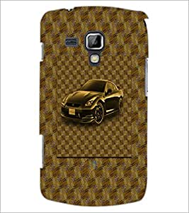 PrintDhaba Car D-3870 Back Case Cover for SAMSUNG GALAXY S DUOS S7562 (Multi-Coloured)
