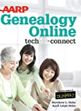 img - for AARP Genealogy Online Tech To Connect (Thorndike Large Print Health, Home and Learning) book / textbook / text book