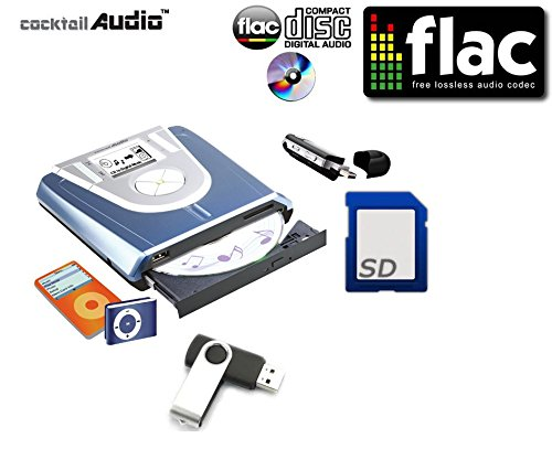 Cocktail Audio Mini X-9 Tempo reale Audio CD Digital Music Converter, Burner & Player ...