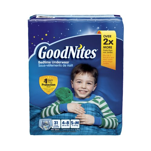 Goodnites Underwear - Boy - Big Pack - Small/Medium - 31 ct - 1