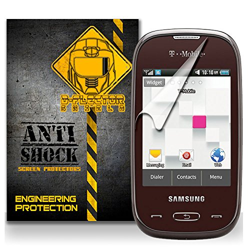 D-Flectorshield Samsung Gravity Q T-Mobile Anti-Shock/Military Grade/ Tpu /Premium Screen Protector / Self Healing / Oleophobic Material / Ez Install / Ultra High Definition / Scratch Proof / Bubble Free Install / Precise Laser Cuts front-458904