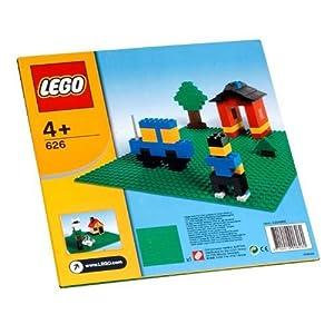 Lego - Construction - Plaque de base verte (25 x 25 cm)