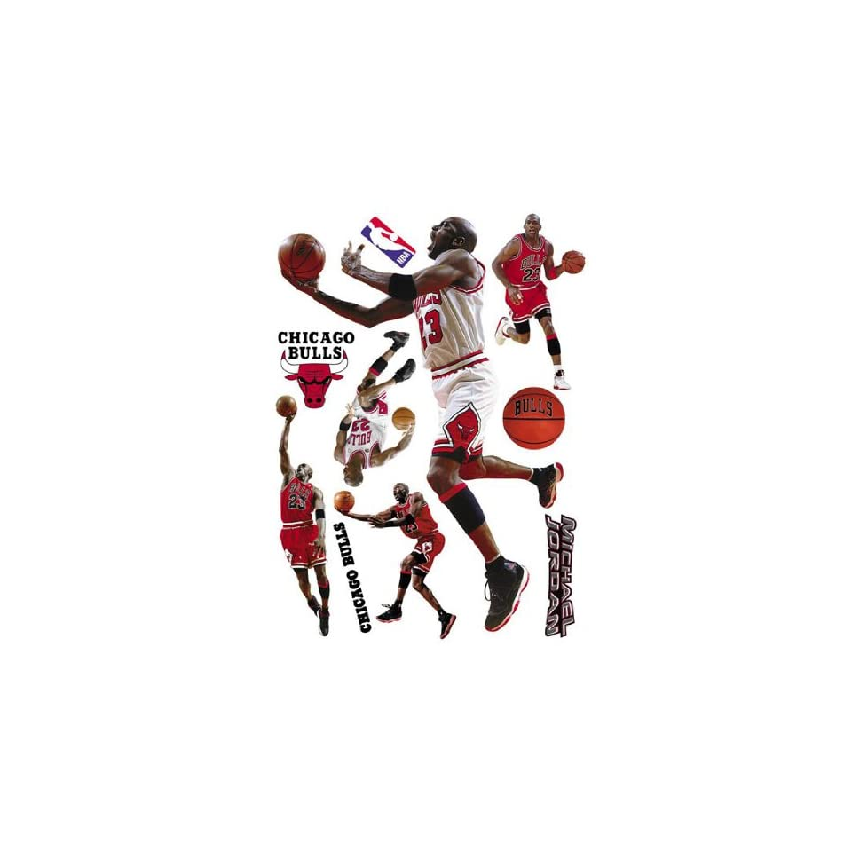 Upper Deck NBA Wall Stars Chicago Bulls   Michael Jordan