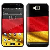 """atFoliX Designfolie """"Deutschland Flagge"""" f�r Samsung Ativ S (GT-I8750) - ohne Displayschutzfolievon """"Designfolien@FoliX"""""""