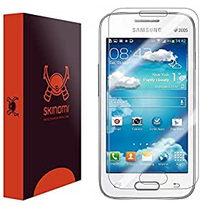 Skinomi® TechSkin - Samsung Galaxy V Plus Screen Protector Premium HD Clear Film with Free Lifetime Replacement Warranty / Ultra High Definition Invisible and Anti-Bubble Crystal Shield