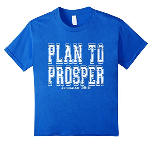 Plan To Prosper Jeremiah 29:11 Christian Shirt by RangerTees