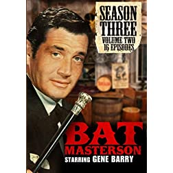 Bat Masterson: Season 3 - Volume Two (Sixteen Episodes) - Amazon.com Exclusive