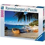 Ravensburger - Palmitos en la playa, puzzle de 1000 piezas (19018 8)