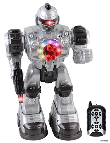 Memtes-Remote-Control-Robot-Toy-Shoots-Soft-Rubber-Missiles-Lights-and-Sound-Walks-Talks-and-Dances