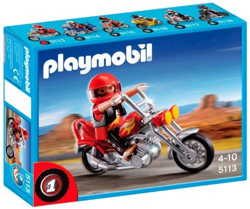 5113 Chopper Motorbike 5113 5113 4008789051134 By Playmobil