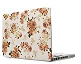 Smart Tech(TM) PRO 13-inch Matte Rubberized Hard Case for Macbook Pro 13.3 Modle:A1278(Not Fit with Retina) (Newest Version) Shell Cover(3 year warranty) (New-Flower)