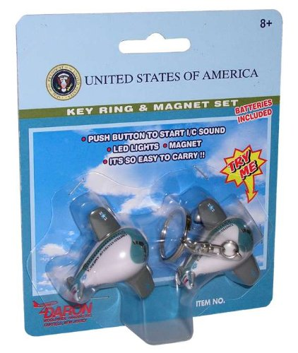 Air Force One Key Chain And Magnet Set (**)