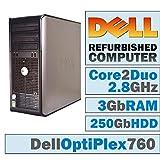 Lot of 5 Dell OptiPlex 760 MT/Core