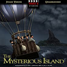 The Mysterious Island Audiobook by Jules Verne Narrated by David McCallion