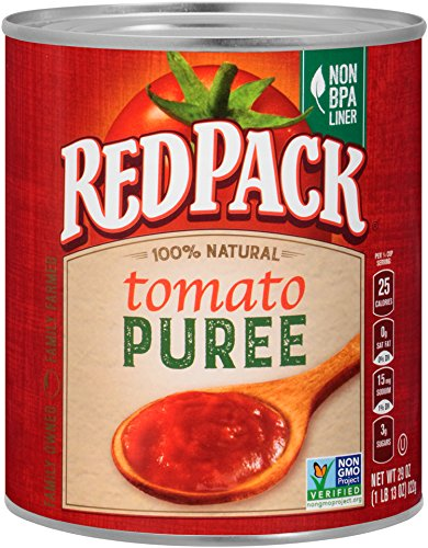 Redpack Tomato Puree, 29oz Can (Pack of 12) (Red Pack Tomato Paste compare prices)