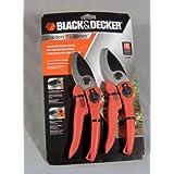 Black & Decker 2 Pc 8 Bypass Pruner Set Bd1880