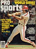 Pro Sports November 1979 Pete Rose Cover. Grade:B- at Amazon.com