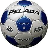 molten(モルテン) ペレーダ4000 [ Pelada4000 ] EXCELLENT DURABILITY F5P4000-WB 白+青 5号球