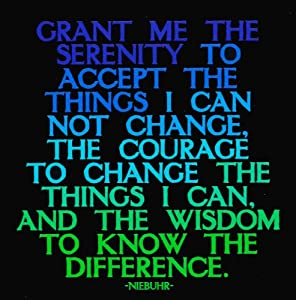 Grant Me The Serenity - Niebuhr Color Magnet