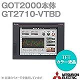 三菱電機 GT2710-VTBD GOT2000 GOT本体 (10.4型) (解像度 640×480) (DC24V) (パネル色:黒) NN