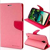 RJR MERCURY GOOSPERY WALLET STYLE FLIP BACK CASE COVER FOR Samsung Galaxy S Duos 2 S7562 S7582-Baby PINK