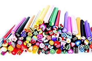 Premium MASH 100 Pc Nail Art Nailart 3d Manicure Design Sticks Rods Stickers Gel Tips