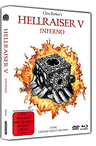 Hellraiser 5 - Inferno - Limited Uncut 2-Disc Mediabook (DVD+Blu-ray Disc) - White Edition [Limited Edition]