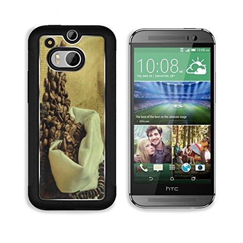 Coffee Beans In Burlap Sack 3Dcom Htc M8 Cover Premium Aluminium Design Tpu Case Open Ports Customized Made To Order