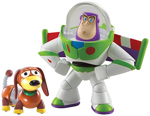 Disney/Pixar Toy Story 20th Anniversary Buzz Lightyear and Slinky Dog Figure Buddy 2-Pack