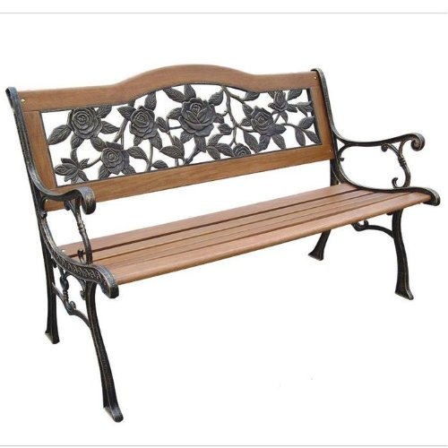 Wood Patio Bench
