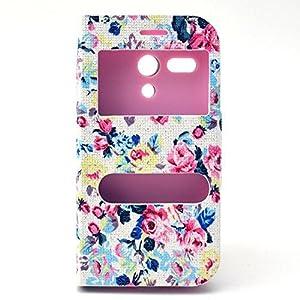 Funda Flip Case Cover Premium Standing Leather Funda Para Motorola Moto G B07 marca Ankamal Elec