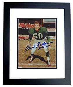 Chuck Bednarik Autographed Hand Signed Philadelphia Eagles 8x10 Photo - BLACK CUSTOM... by Real Deal Memorabilia