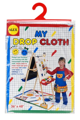 Alex Toys - Artist Studio, My Drop Cloth For Painting Easels, 310
