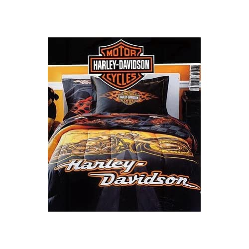 Pin Harley Davidson Bedding Motorcycle Bedroom On Pinterest