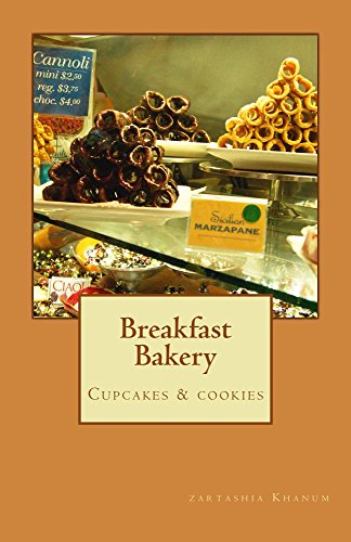 Breakfast Bakery: cup cakes and cookies English Cakes