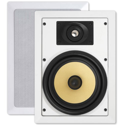 Nuvo Accentplus2 8 In. In-Wall Speakers (Pair)