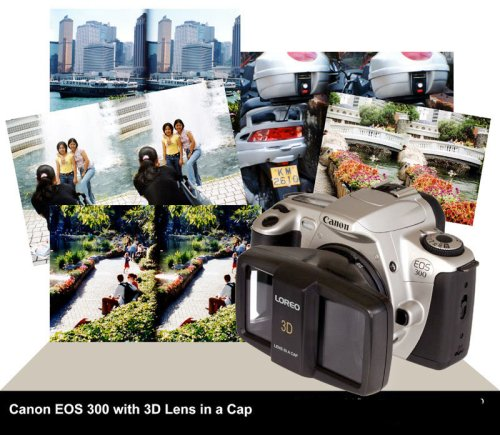 Make Stereo Camera from your Canon EOS Film Camera – Attachment Takes stereo pictures without a stereo camera