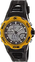 Freestyle Men's 10016989 Shark X Analog-Digital Display Japanese Quartz Black Watch