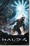 Halo 4  Chaos Video Game Poster