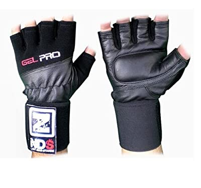 NDS Gel Pro Weight Lifting Gloves Heavy Weight Training Body Building Gym S-XXL from NDS