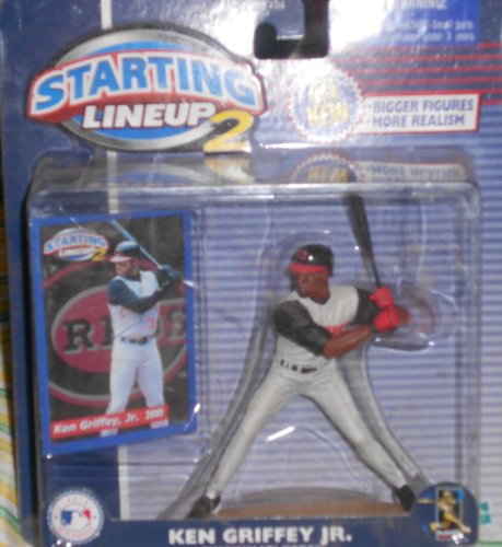 Starting Lineup 2 Ken Griffey Jr. Cincinnati Reds Figure