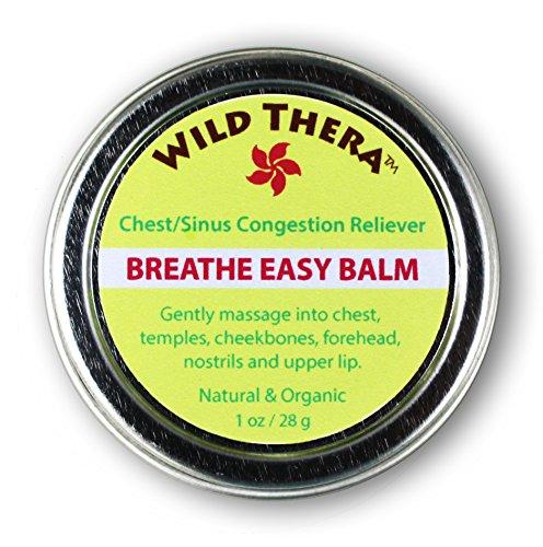 Breathe Easy Balm (1 oz) 100% Natural Relief