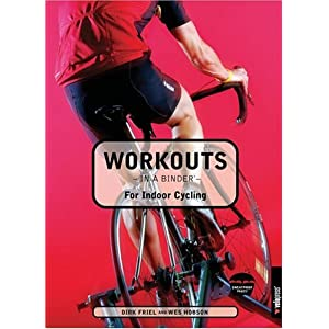 Workouts in a Binder for Indoor Cycling [Spiral-Bound]