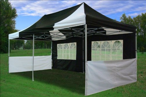 10x20' Red Easy Set Pop up Party Tent Canopy Gazebo - ShopWiki