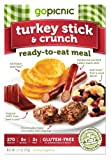 GoPicnic Ready-to-Eat Meals Turkey Stick & Crunch (Pack of 6)