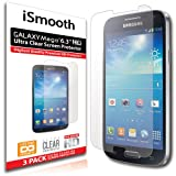 "iSmooth Samsung Galaxy Mega 6.3"" Ultra Clear Premium HD Screen Protector 3 Pack"
