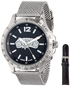 Game Time Mens NBA-CAG-SA Cage NBA Series San Antonio Spurs 3-Hand Analog Watch by Game Time