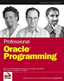 Professional Oracle Programming (Programmer to Programmer)