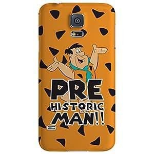 Warner Bros PBWARFSSS5000 The Flintstones-Prehistoric Man Back Cover for Samsung Galaxy S5 (Multicolor)