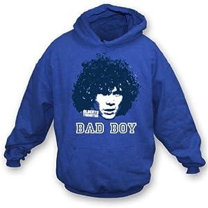 Alberto Tarantini - Bad Boy hooded sweatshirt Small